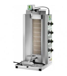 Gyros a gas macchina cuoci kebab mod GYR80M