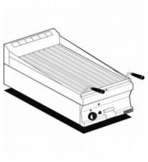 Griglia a gas-pietralavica Griglia in acciaio inox cm. 38x42,5 regolabile