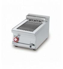 GRIGLIA CONTACT - cottura diretta su resistenza in acciaio inox cm. 27x35 ribaltabile