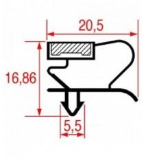 GUARNIZIONE AD INCASTRO 1005x675 mm