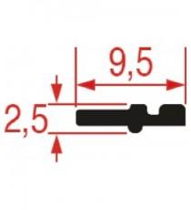 GUARNIZIONE IMPUGNATURA PORTA 595 mm