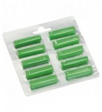 BLISTER 10 STICK GREEN SFUSO ADATTABILE