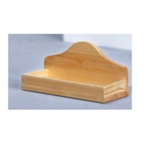supporto in legno a muro per 5 palini