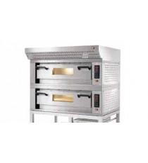 Cavalletto in alluminio con porta cassette pizza per forno mod. Capua OVER h. 115 cm