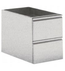 Cassettiere 2 cassetti GN 1/1 profondità 540mm