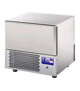 Abbattitore di temperatura per 3 teglie GN1/1 o 60x40 in acciaio inox predisposto per unità frigorifera remota mod AT03ISOSG