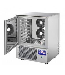 Abbattitore di temperatura per 7 teglie GN1/1 o 60x40 in acciaio inox predisposto per unità frigorifera remota mod AT07ISOSG