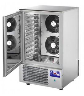 Abbattitore di temperatura per 10 teglie GN1/1 o 60x40 in acciaio inox predisposto per unità frigorifera remota mod AT10ISOSG